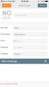 Enter Ticket Details