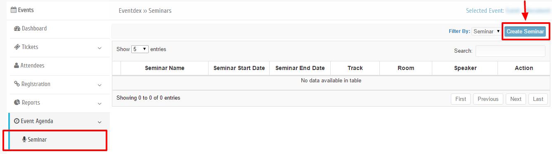 Create Seminar
