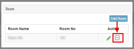 Delete Room
