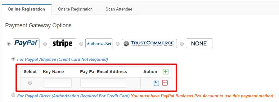 PayPal Adaptive