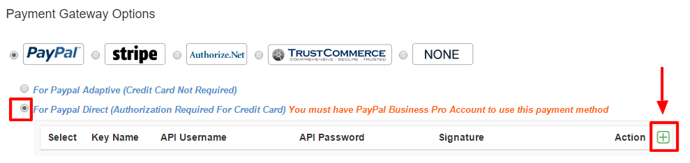 PayPal Direct