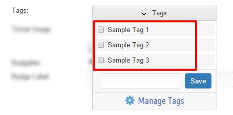 select a Tag